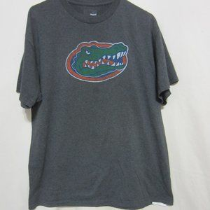 MENS FL GATOR GRAY TEE, LARGE